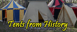 Biggest range of period tents available in Australia