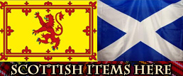 Selection of scottish themed items