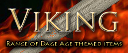 Viking equipment for re-enactment and collectors